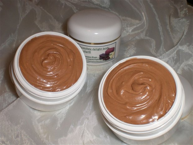 Chocolate delight: body butter.