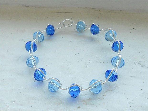 Crystal blue ink