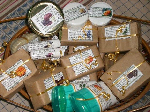 Chocolate delight: balsam de buze 100% natural