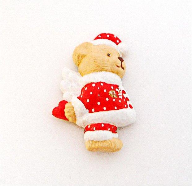 Christmas bear - decoratiune magnet
