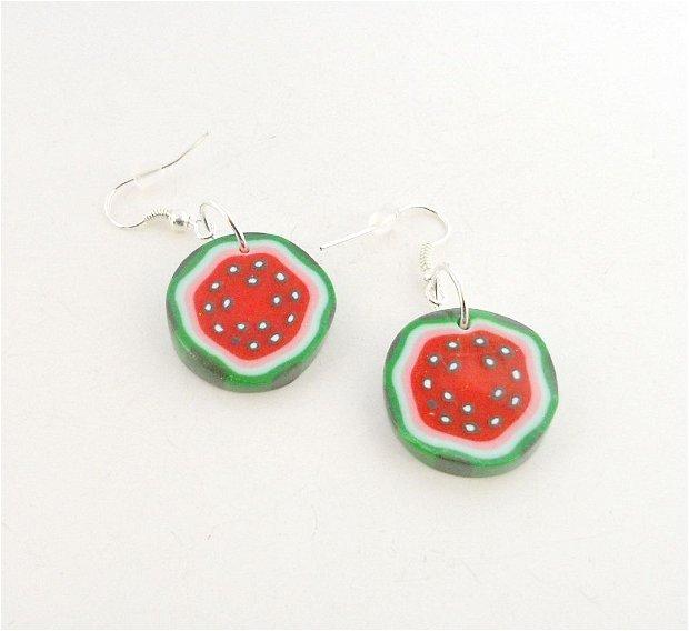 Felii de pepene - cercei