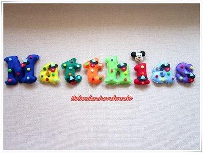 Litere decorative pufoase -