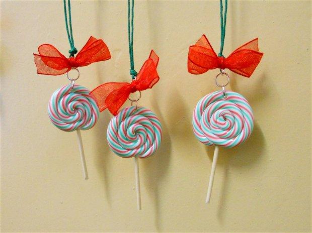 Lollipop - decoratiuni brad