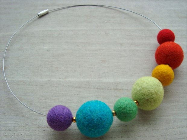 Rainbow necklace