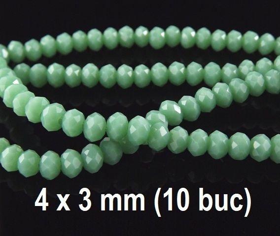 Cristale fatetate, 10 buc, 4x3mm COD MFS -01