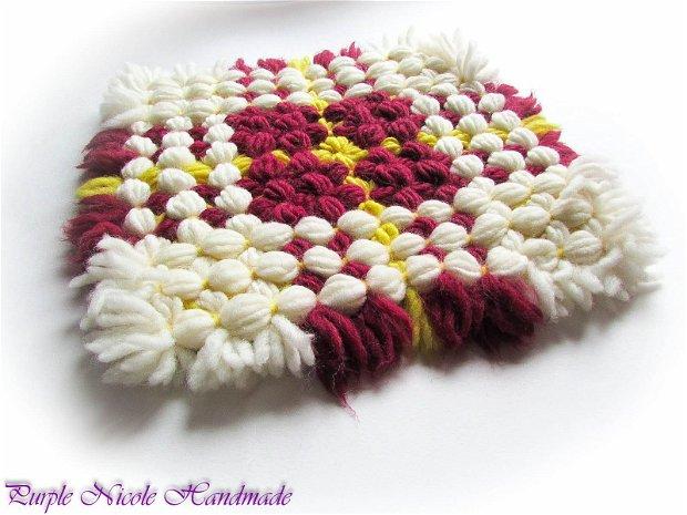 Crizantema - fata perna decorativa