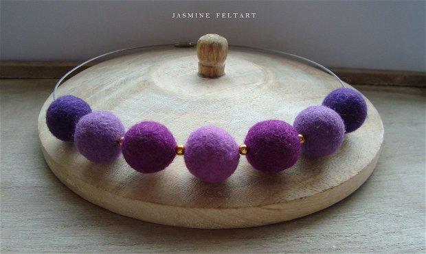 Colier Violet Drops