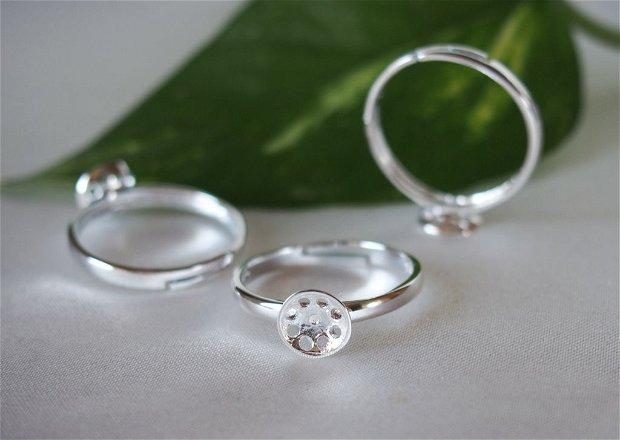 Baza inel, reglabila, argint 925 (1)