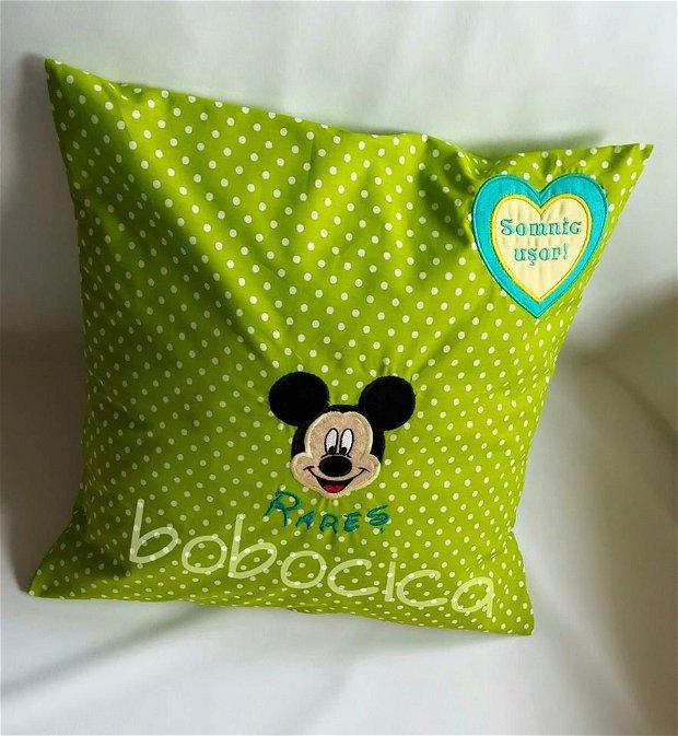 Perna personalizata cu Mickey