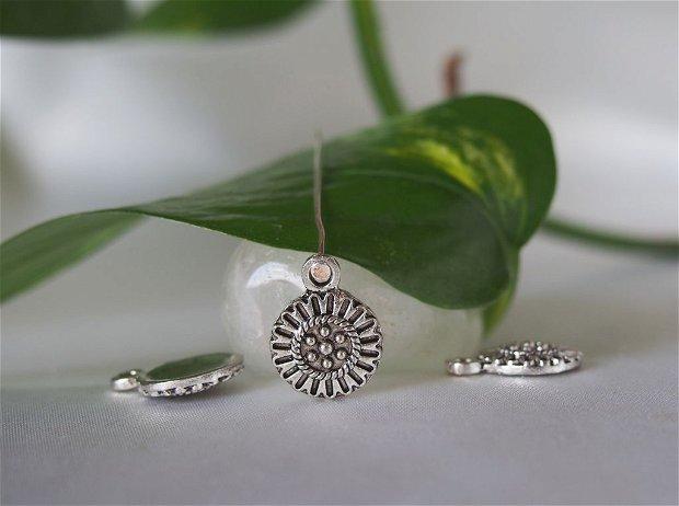 Drop argintat antichizat 11mm (1)