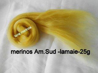 lana fina Am.Sud-galben lamaie-25g
