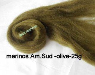 lana fina Am.Sud-olive-25g