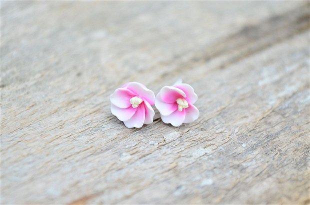 Flori de cires- cercei surub