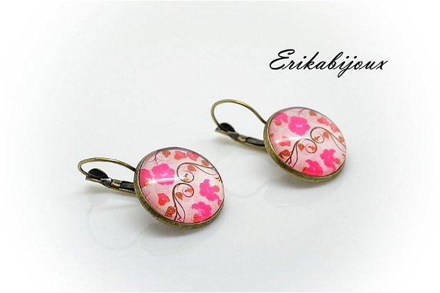 Cadou martisor-cercei floral 1