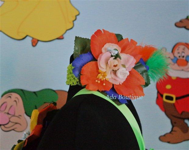 Rochita serbare Zana Padurii-unicat (4-6 ani)