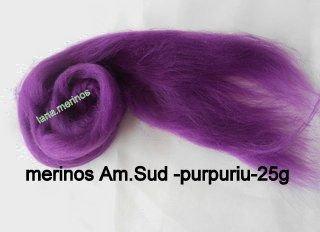 lana fina Am.Sud-purpuriu-25g
