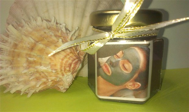 ,,Bacti-Pur'' - masca pentru ten acneic (cu: 2 argile) - 50 gr