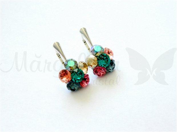 Swarovski - Chaton  Flower Multicolor
