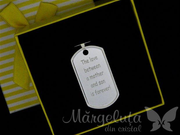 Placuta - Dog tag personalizata