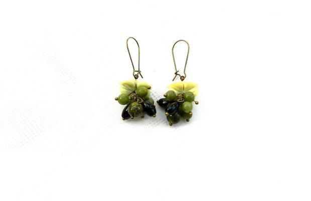Flori curgătoare olive jad