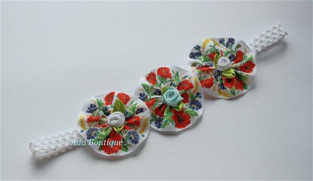 Bentita elastica cu flori de camp