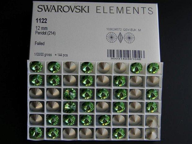Swarovski Rivoli 12 mm - 1122-12-214