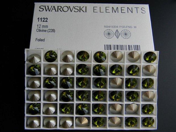 Swarovski Rivoli 12 mm - 1122-12-228