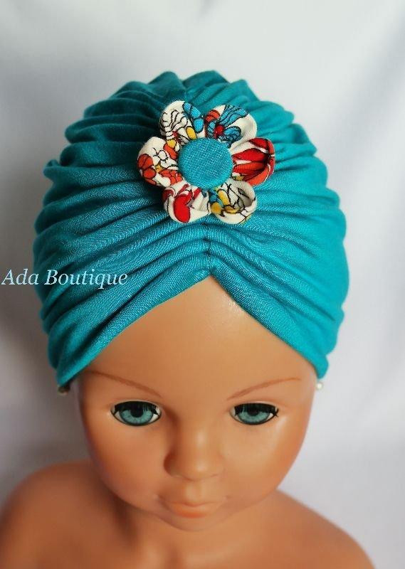 Turban turquoise