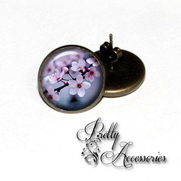 C003 - Cherry blossom - cercei surub - cercei dop