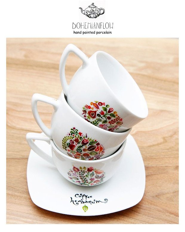 """SET CAFEA """" Lovely moments"""""""