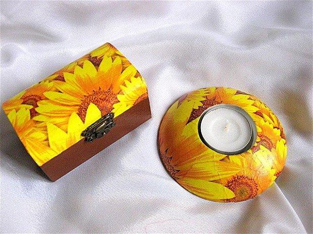set cadou -floarea soarelui - 25953
