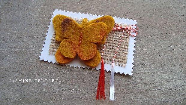 Broșă fluture