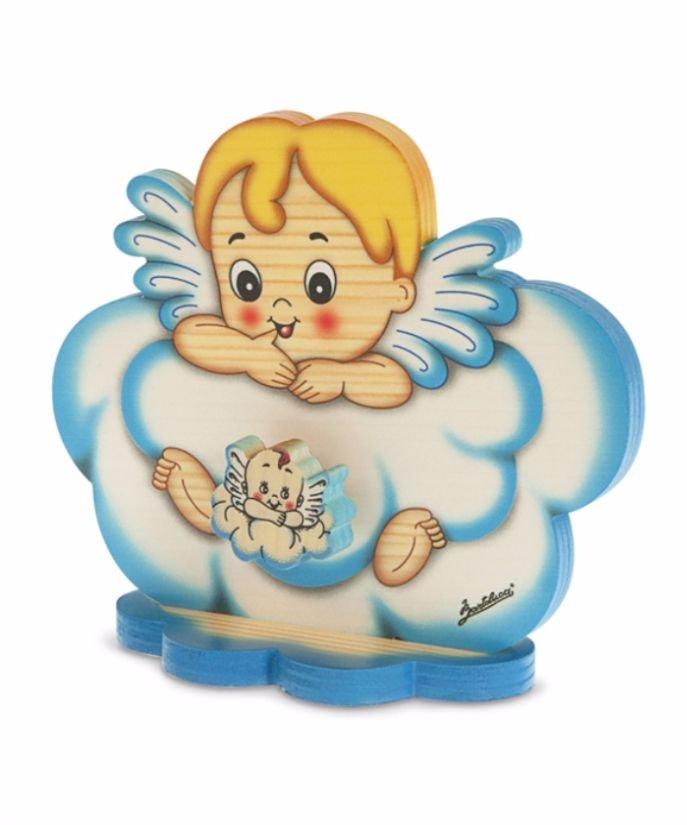 Cutie Muzicală Cu Bază Înger Nor Albastru
