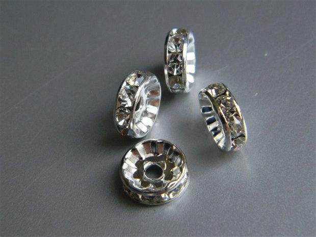 Margele rhinestone 10 mm