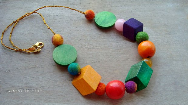 Colier Colorful Geometry