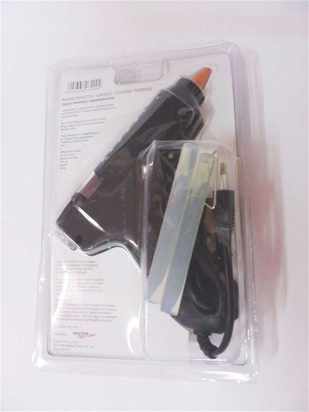 Pistol de lipit cu bagheta de silicon- 40 W