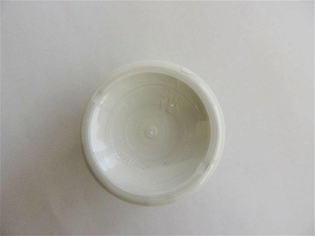 vopsea acrilica mata, 50 ml- alb