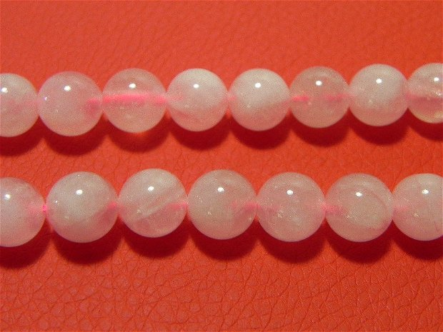 Sirag Cuartz roz 10 mm (19 buc) R13
