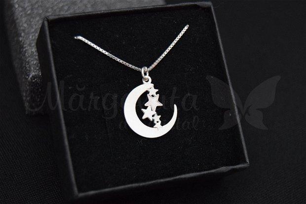 Lantisor argint - Luna
