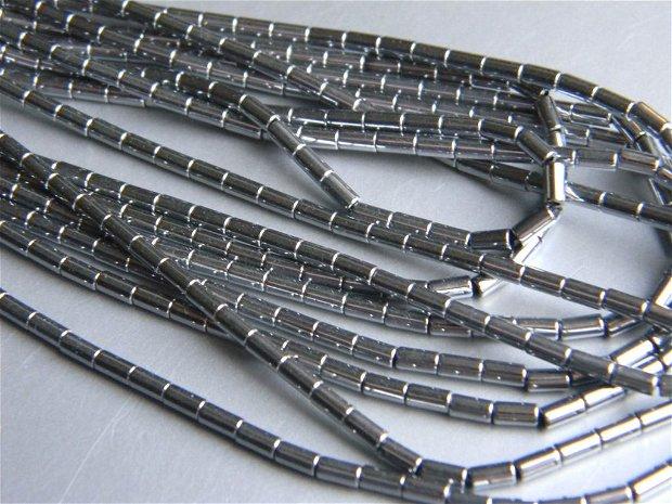 Hematit electroplacat 4x2 mm (50 buc.) T5