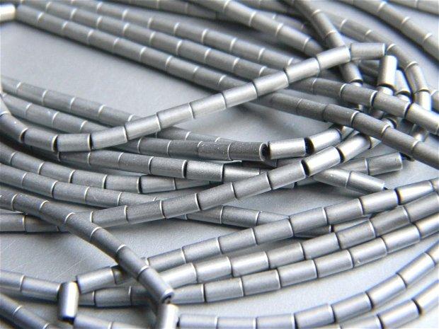 Hematit electroplacat 4x2 mm (50 buc.) T3