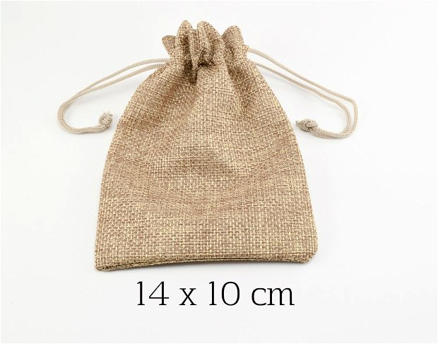 Saculet textil, 14 x 10 cm (M1)