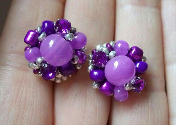 Cercei statement violet