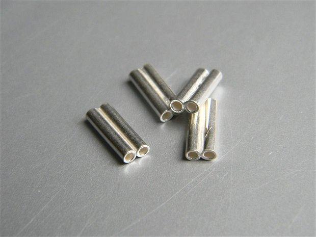 Tub dublu argint 10 mm/1 buc. (TD10X2)