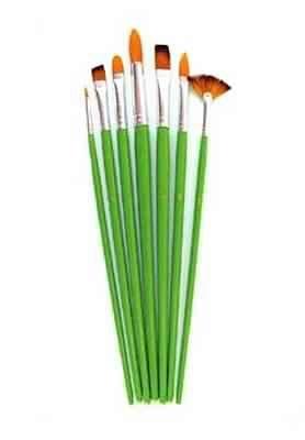 Set 7 pensule cu varfuri diferite