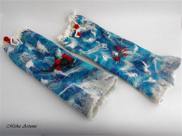 Jambiere impaslite - Iarna calduroasa