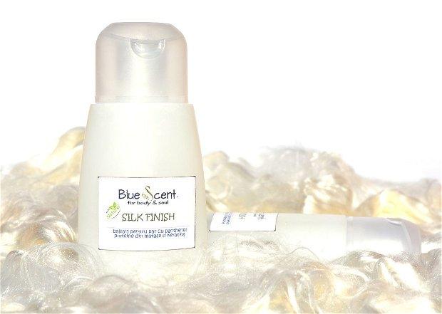 Silk Finish-Balsam pentru par cu proteine din matase si Keratina-BlueScent