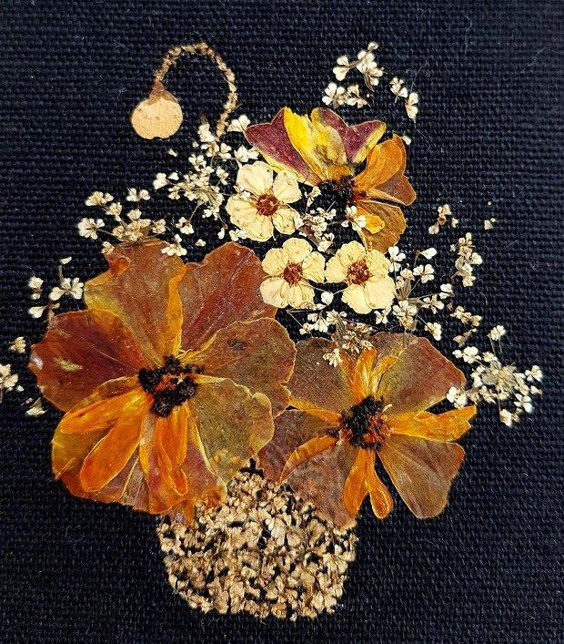 Tablou cu flori naturale presate,Tablou cu, craite