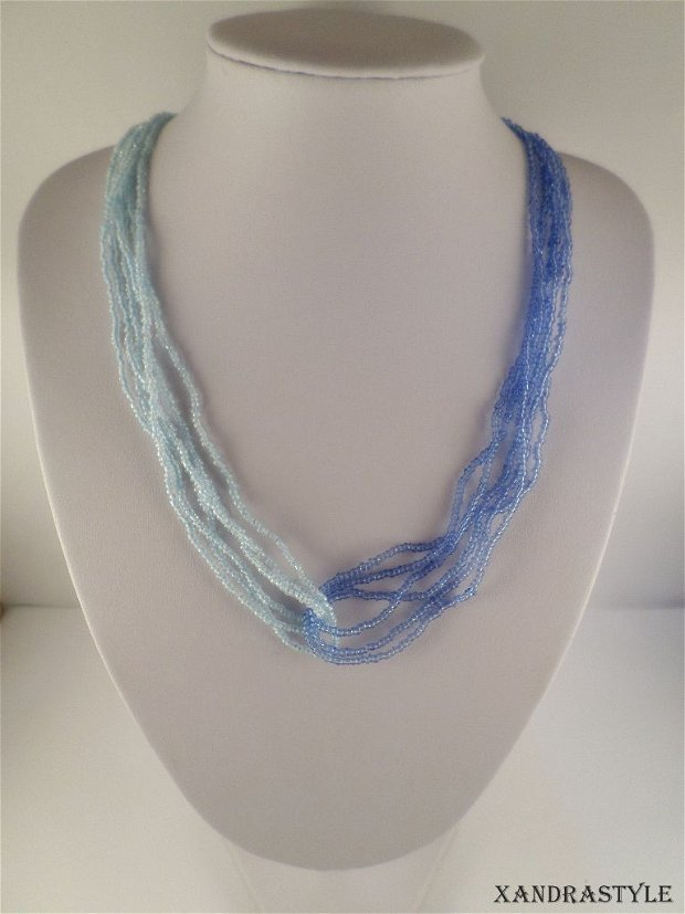 Colier Ombra - blue