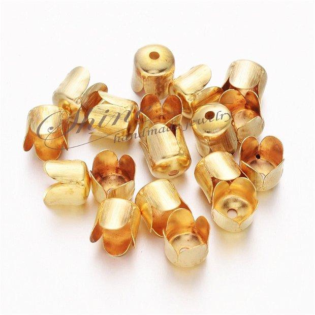 Capac auriu, 6.5x7mm
